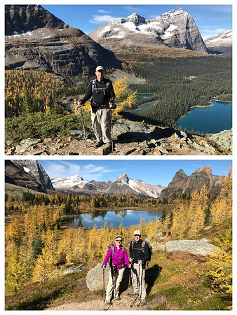 Lake O'Hara....one of the most beautiful places on the planet...a spectacular day of hiking...only 40 day hikers are permitted each day! It's like getting a ticket to a rock concert!