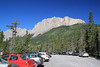 The parking lot was really crowded and there were more people on the trail than we had ever seen.  It was a Sunday with beautiful cool weather, but the main reason was probably that all of Kananaskis Country is closed due to the massive flooding of just a couple weeks ago and this is one of the few major hiking trails accessible close to Calgary.