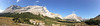Another panorama with Elpoca mountain on the left with Tombstone in the distance.