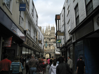 Lily and I visited Canterbury on a day when Stephanie visited Bath.
