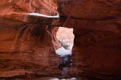 Canyoneering - Moab February 2013