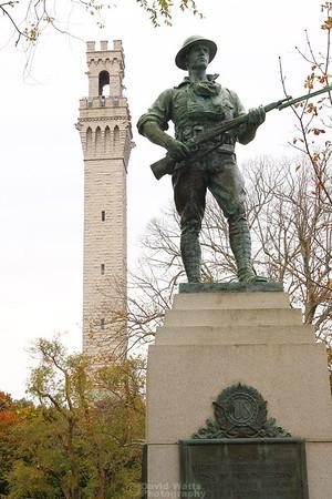 War Memorial and Pilgrims Monument