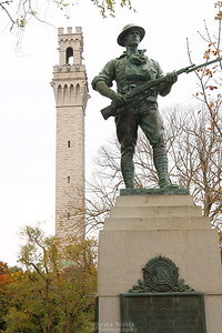 Provincetown War Memorial and Pilgrims Monument