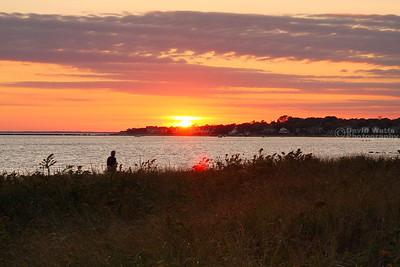 Kalmus Beach Sunset