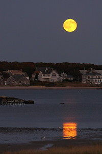 Full Moon at Lewis Bay