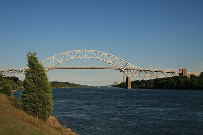 Bourne Bridge at Cape Cod, MA