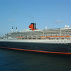Along side Queen Mary II in Fort Lauderdale