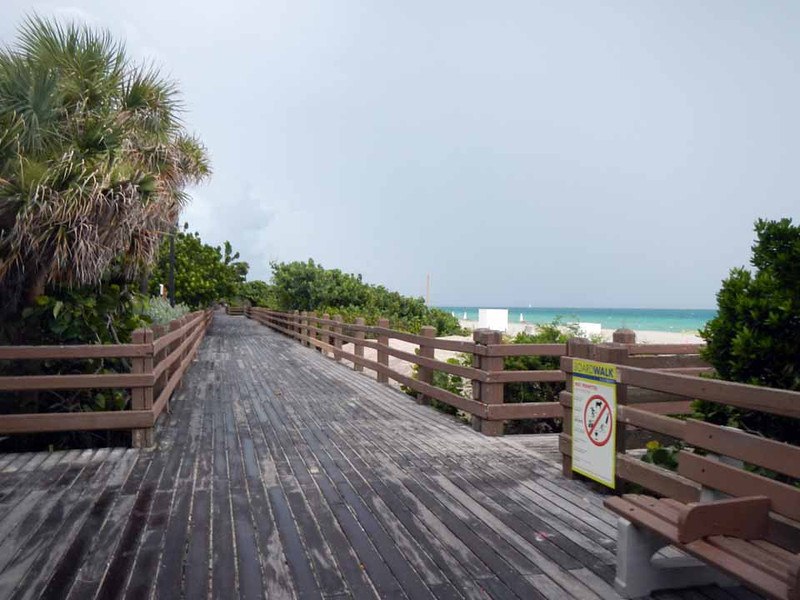 Boardwalk, Miami Beach.