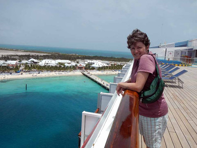 Pulling in to Grand Turk, our first port.