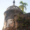 This fort took over 150 years to build that surrounded Old San Juan. These garitas, or look-out towers, were every hundred yards or so.