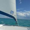 Under Sail across Abaco Bay.