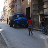 An old russian truck in downtown Havana