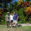 Eduardo, Kim and Alan at Green Castle Estate.