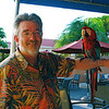 Alan with Scarlet Macaw.