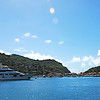 Coming into the harbor, Saint Barthelemy.
