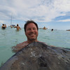 Stingray City Cayman Islands<br /> <br /> weird face but when you have a stingray in your face, kinda weird too