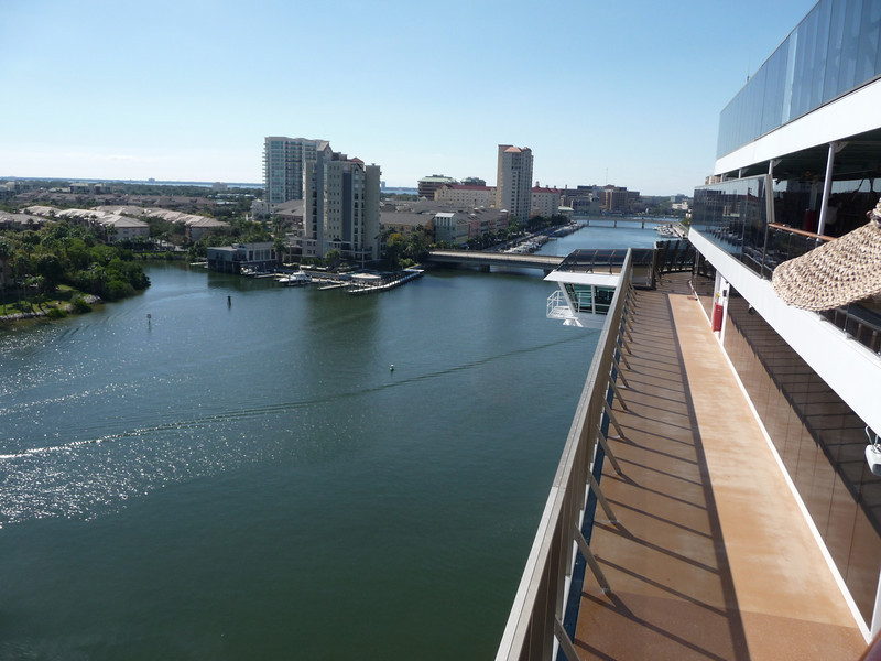 Leaving Tampa Dock