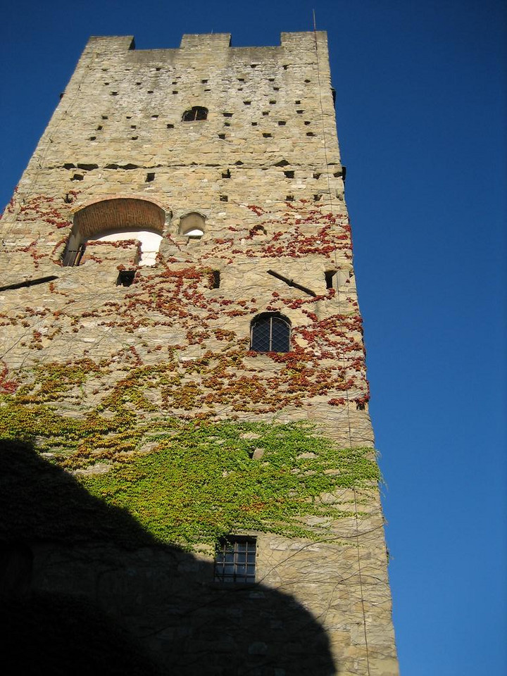 Castle of Porciano in its current state.