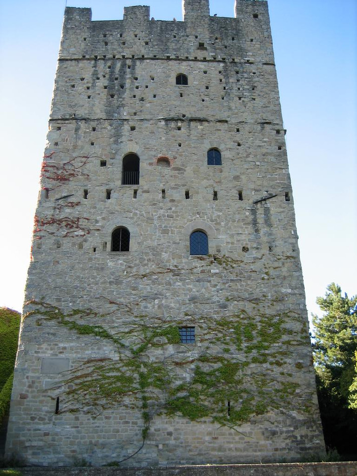 Tower of castle of Porciano
