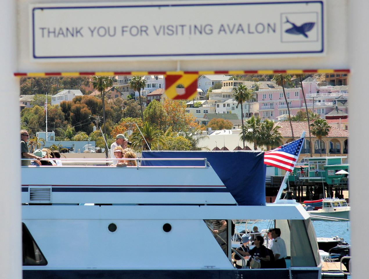 Avalon Thanks Steve and his Guests for Their Gracious Visit