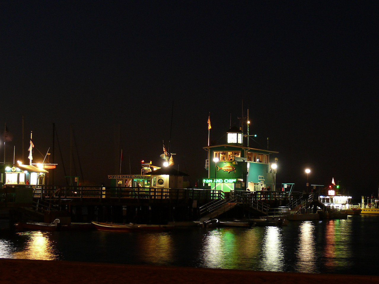 Pier Night Shot