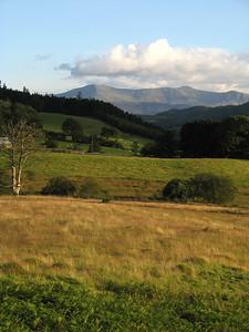 Welsh mountain farms.  Lotsa sheep.
