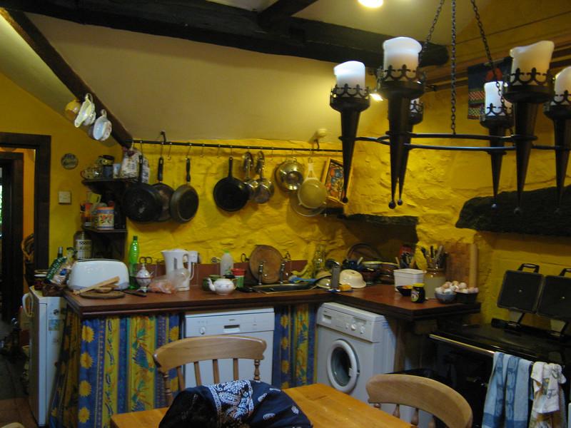 Bright yellow kitchen of loveliness.