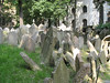 Jews were forced to live in their small ghetto and all burials were kept to this cemetery. After a few hundred years it looked like this.