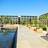 Courtyard at Los Cabos Marriott.