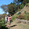 Looking at birds in the national park near San Salvador.