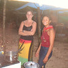 Our Cooks on the Rupinuni River trip, Duane's niece and his daughter-in-law.