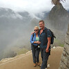 Kelly and Tim enter Machu Picchu.