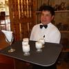 Welcome Pisco Sours at the Huayoccari Hacienda Restaurant