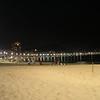 Copa Cabana Beach by night, Rio de Janeiro, Brazil