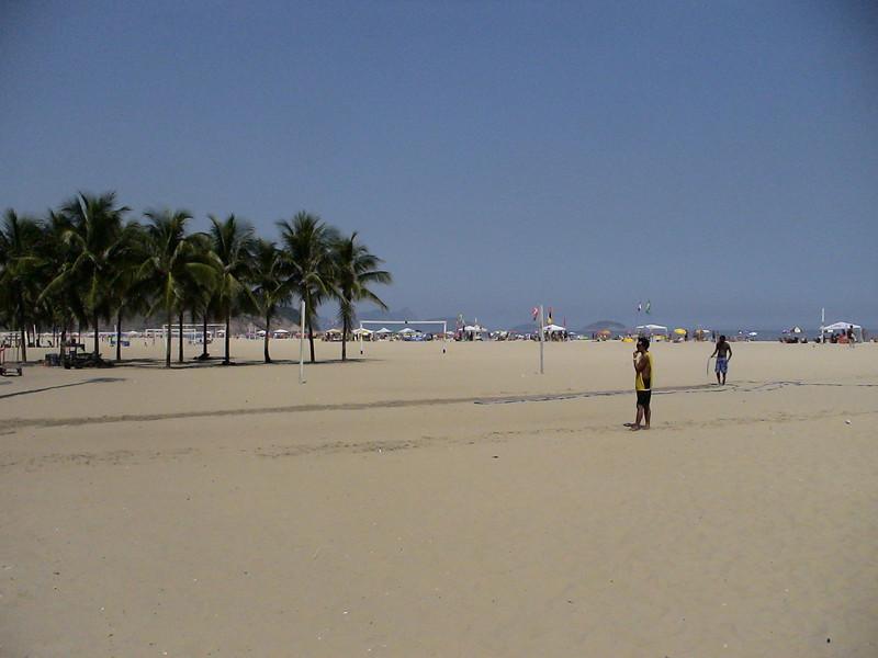 Copa Cabana Beach, Rio de Janeiro, Brazil