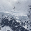 Glacier on the side of Salkantay