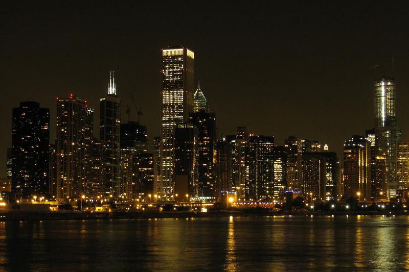 Chicago nightscape