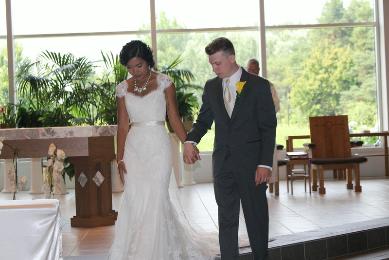 Chicago 2014 - Michael & Kassie Wedding, train ride, Zoo, swimming