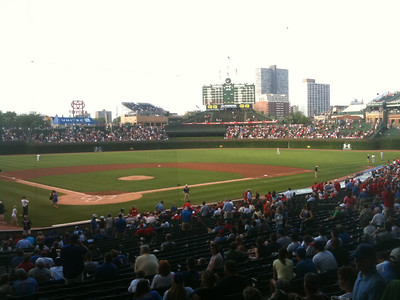 Beautiful Wrigley Field.