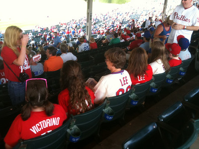 Phillies fans travel well.