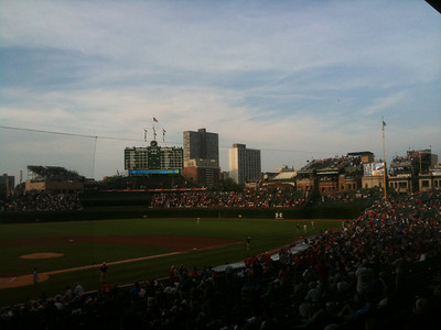 More shots of Wrigley.
