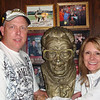 Bill and Lee at Harry Caray's in Chicago ( 2011 )