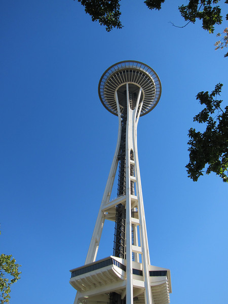 Follow the Space Needle to....
