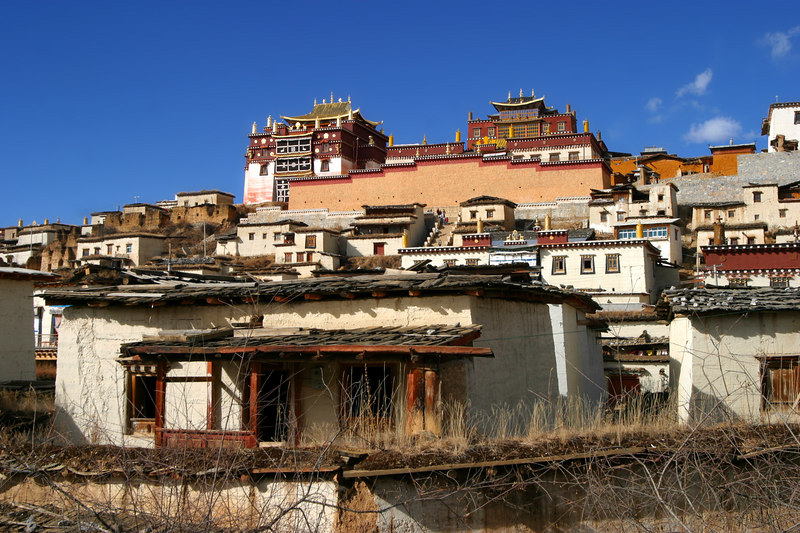 Songzanlin Lamasery / Ganden Sumtseling Gompa / 松贊林寺