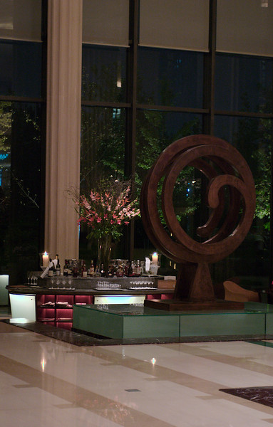 China, Beijing, The Regent Beijing, Lobby Bar