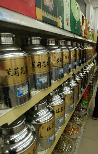 China, Beijing, Grocery Store (Tea IIRC)