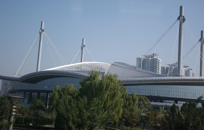 China, Beiing, Olympic Construction, Velodrome