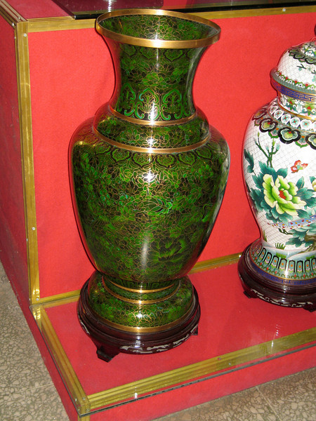 China, Beiing, Cloisonne (Beijing Enamel Factory)