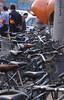 China, Beiing, Summer Palace, Bicycles