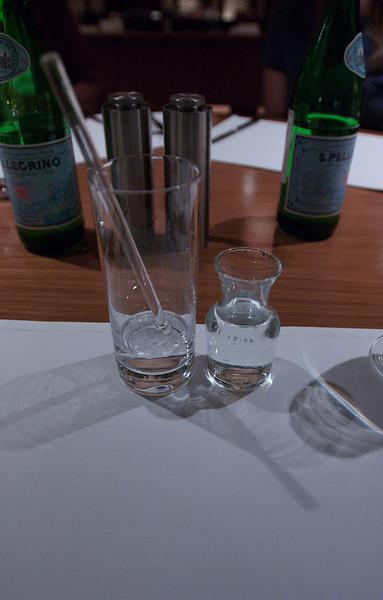 China, Beijing, The Regent Beijing, Dinner, Gin and Tonic